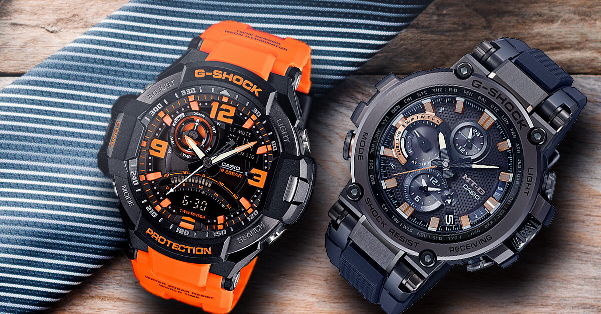 The History of Casio's Popular G-Shock Watch