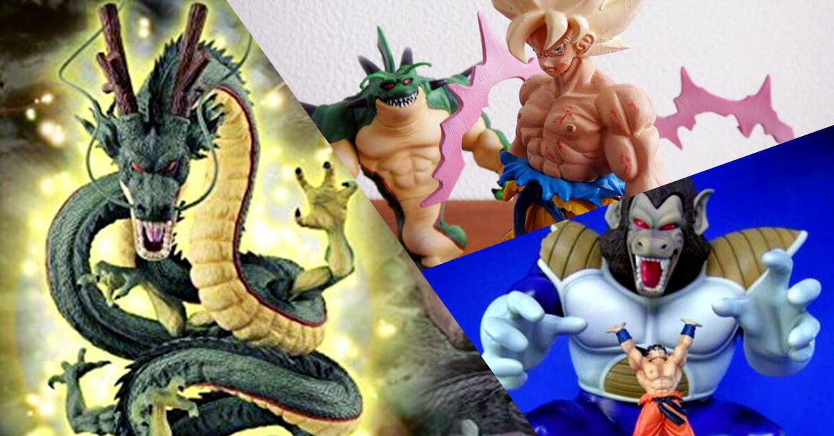 5 Select Rare Dragon Ball Figures