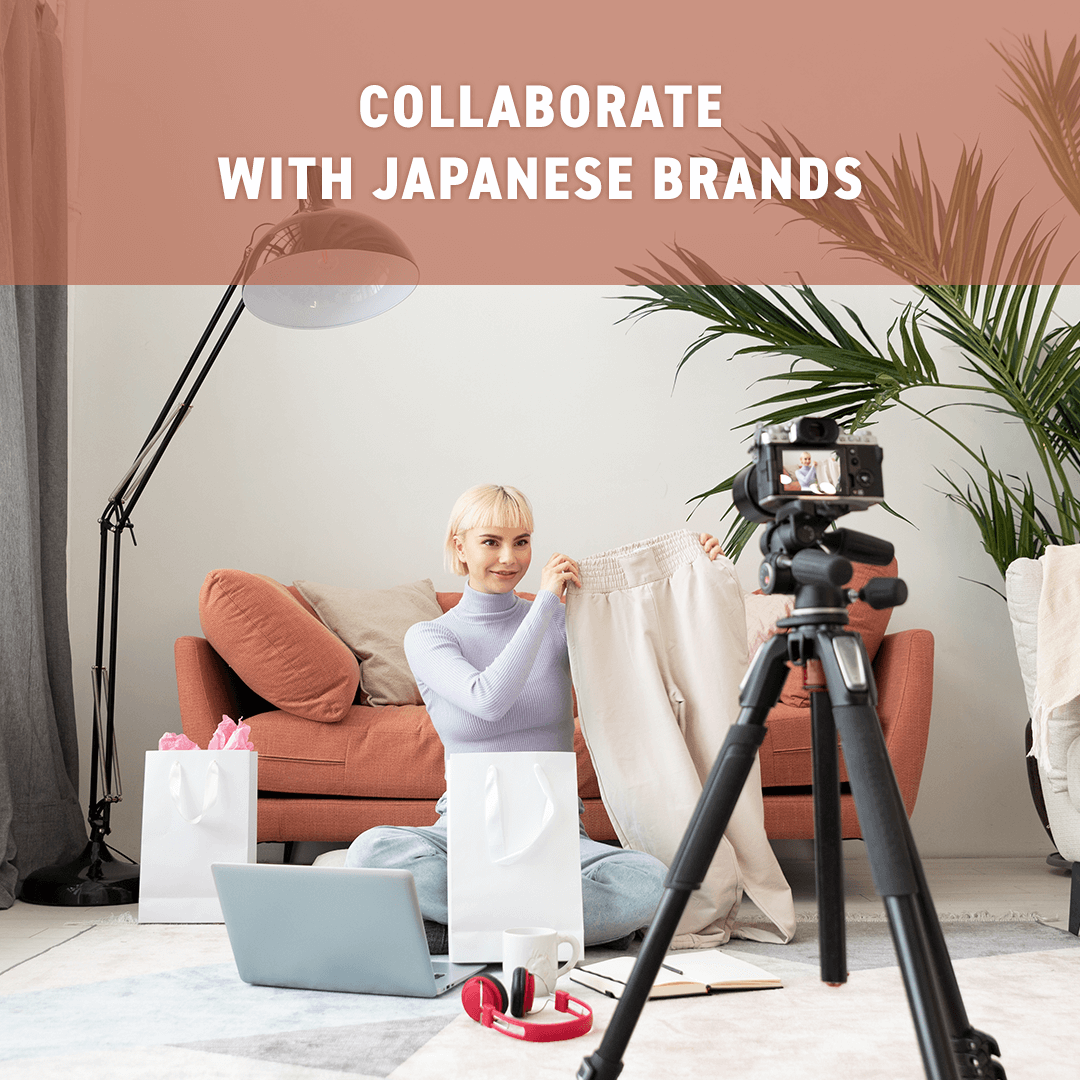 Collaborate with Japanese brands