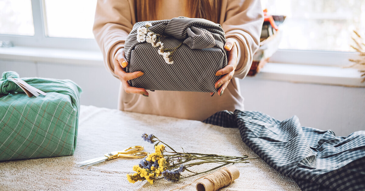 Could Furoshiki Be Your New Gift Wrapping Hack?